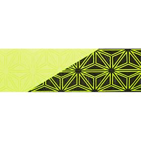 Supacaz Super Sticky Kush Starfade Handlebar Tape, neon yellow